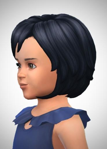 Birksches sims blog: WavyBob Toddler Season for Sims 4