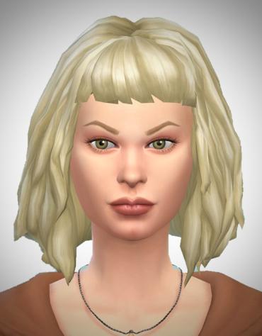 Birksches sims blog: Milla hair for Sims 4
