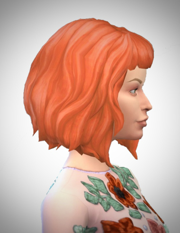 Birksches sims blog: Milla hair for Sims 4