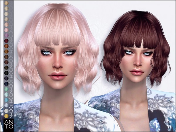 The Sims Resource: Nhoa by Anto for Sims 4