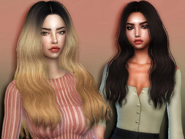 The Sims Resource: Simpliciaty`s Jane hair retextured by Sharareh for Sims 4