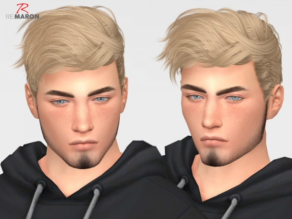 The Sims Resource: Wavves Hair Retextured by Remaron for Sims 4