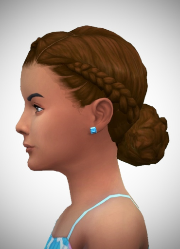 Birksches sims blog: Little Josies Braids for Sims 4