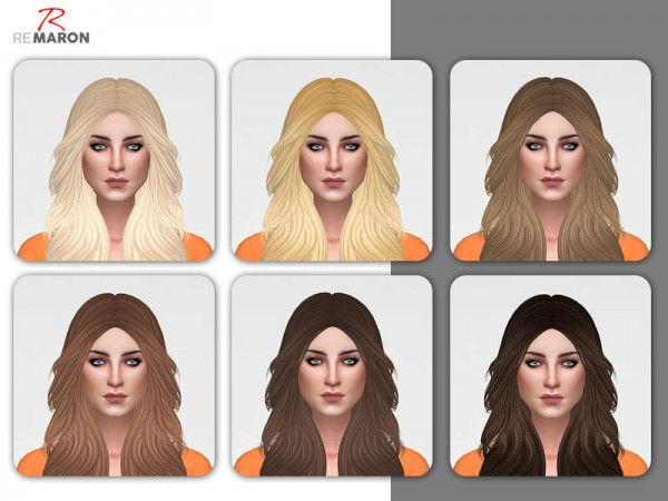 The Sims Resource: Anto`s Honey hair retextured by Remaron for Sims 4