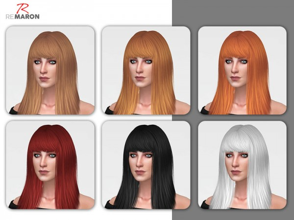 The Sims Resource: LeahLillith`s Monster Hair Retextured by remaron for Sims 4