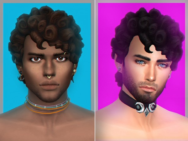 The Sims Resource: Hylas hair retextured by WistfulCastle for Sims 4