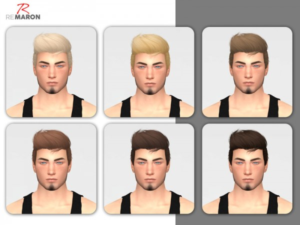 The Sims Resource: Like Lust Hair Retextured by remaron for Sims 4