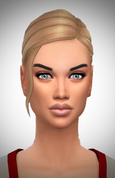 Birksches sims blog: Lady's Fancy Mini Pony hair for Sims 4