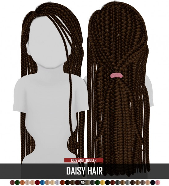 Coupure Electrique: Daisy hair for Sims 4