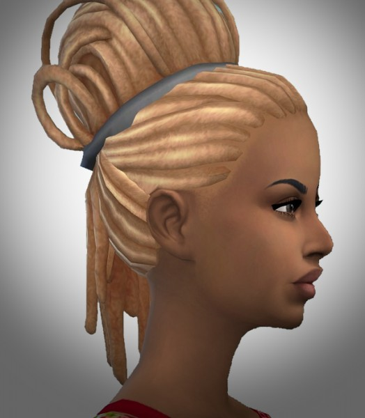 Birksches sims blog: Great Dread Knot hair for Sims 4