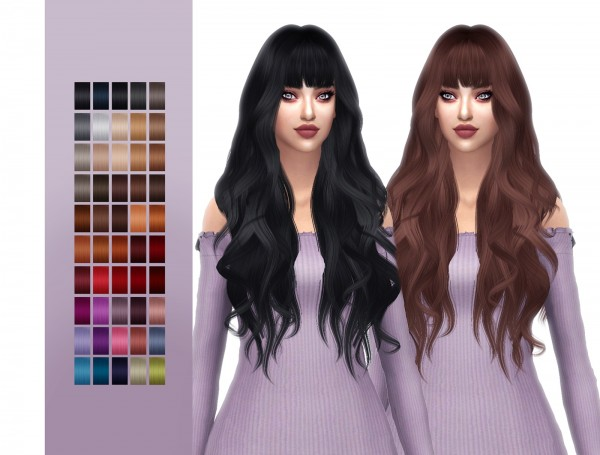 The Sims Resource: Anto`s Owl hair retextured for Sims 4