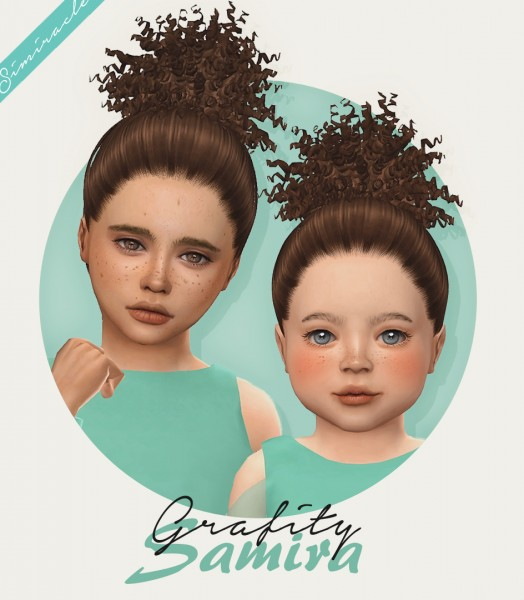 Simiracle: Grafity`s Samira hair retextured for Sims 4