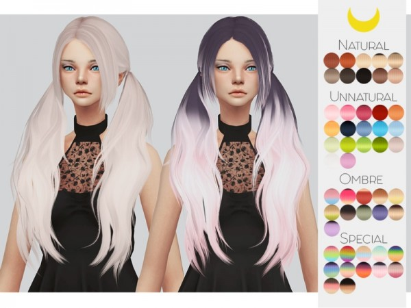 The Sims Resource: Stealthic`s Baby doll hair retextured by Kalewa a for Sims 4