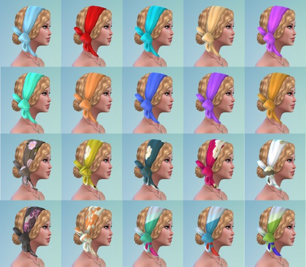 Mystufforigin: Betty Hair retextured for Sims 4