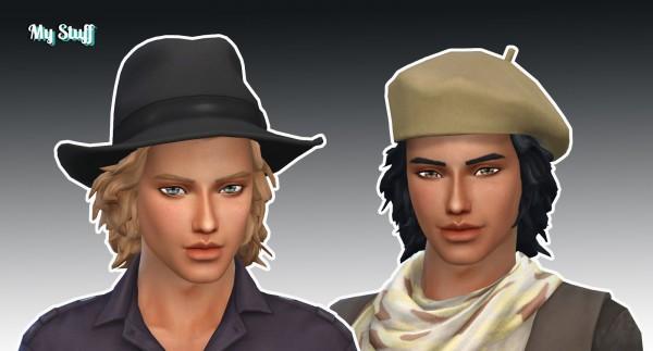 Mystufforigin: Avan Jogia Hair for Sims 4