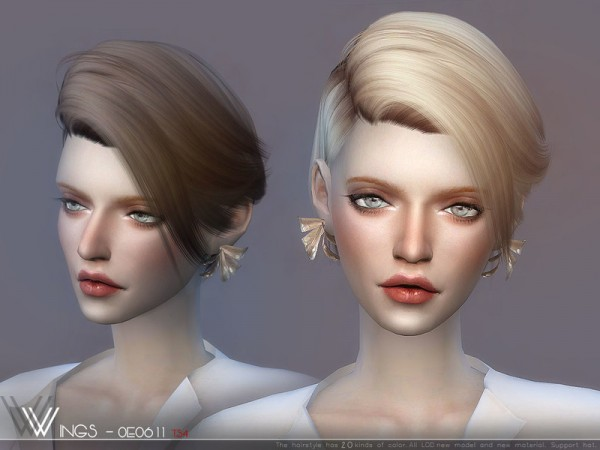 The Sims Resource: WINGS OE0912 for Sims 4