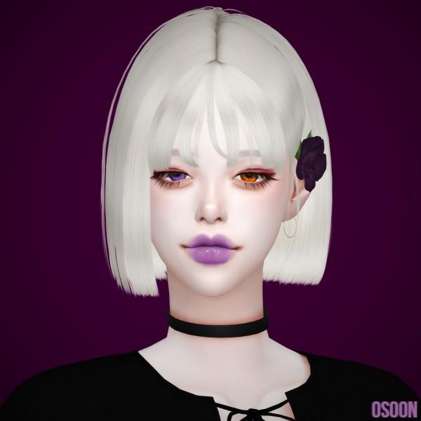 Osoon: Hair 04 for Sims 4