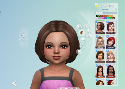 Mystufforigin: Brooke Hairstyle for Toddlers for Sims 4