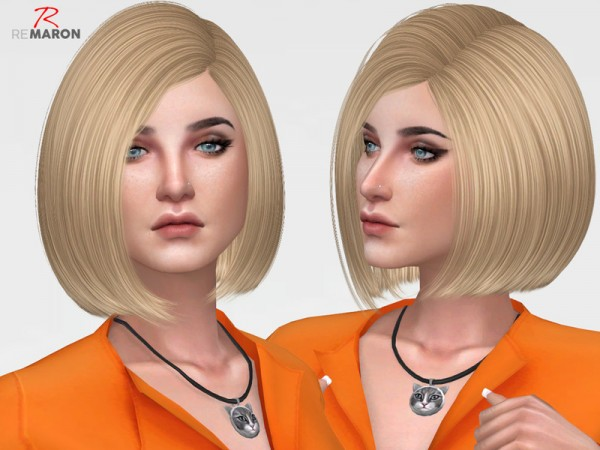 The Sims Resource: Sandy Hair Retextured by Remaron for Sims 4