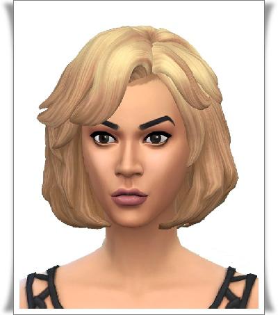 Birksches sims blog: Donna S. Hair for Sims 4