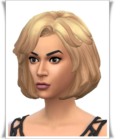 Birksches sims blog: Donna S. Hair for Sims 4