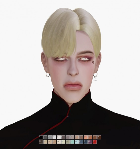 Effie: Mika Hair by Musae for Sims 4