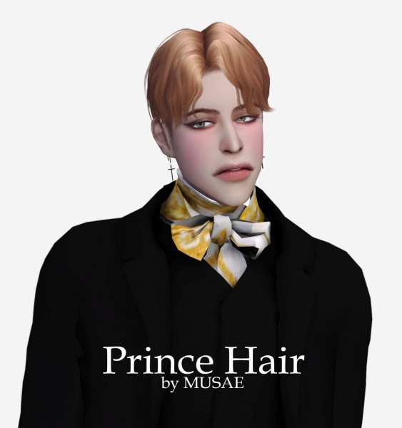 Effie: Prince hair by Musae for Sims 4