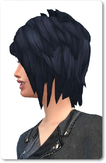 Birksches sims blog: Joan Hair for Sims 4
