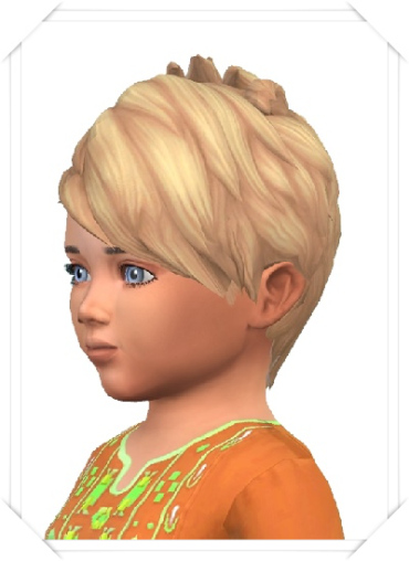 Birksches sims blog: Baby'Slashed Hair for Sims 4