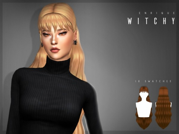Enrique: Witchy Hair for Sims 4