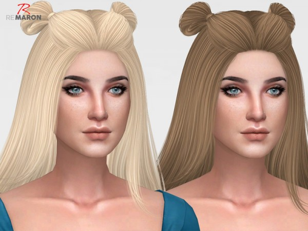 The Sims Resource: Spice Hair Retextured for Sims 4