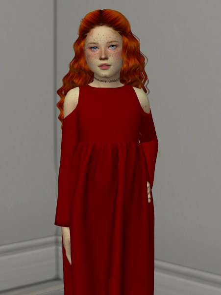 Coupure Electrique: Anto`s Heaven hair retextured  kids and toddlers version for Sims 4