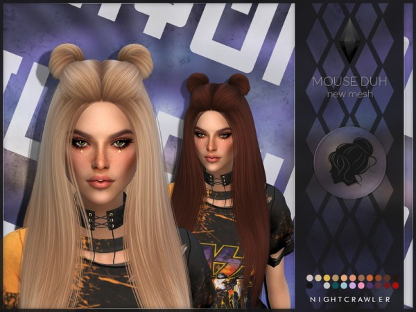 The Sims Resource: Mouse Duh by Nightcrawler for Sims 4