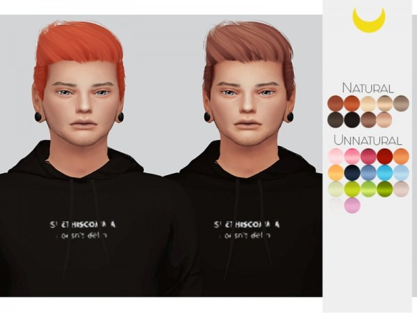 The Sims Resource: Stealthic`s Like Lust hair retextured by kalewa a for Sims 4