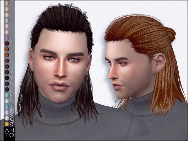 The Sims Resource: Alex Hair Pack by Anto for Sims 4