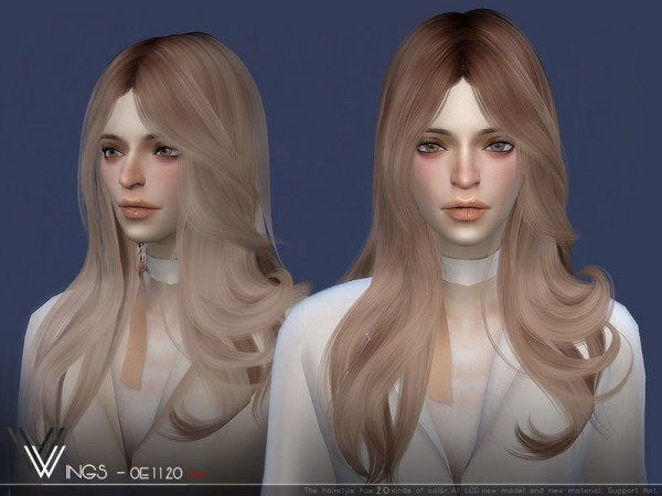 The Sims Resource: WINGS OE1120 for Sims 4