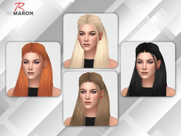 The Sims Resource: Sugar Hair Retextured by Remaron for Sims 4