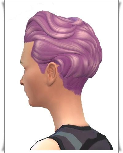 Birksches sims blog: Tilda Mid Brush Hair for Sims 4