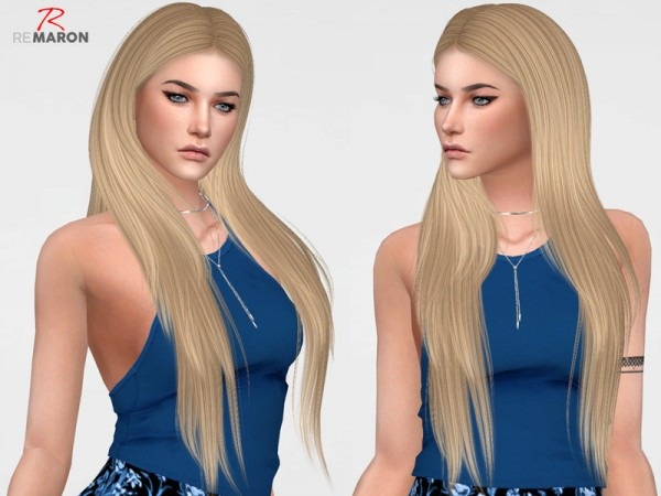 The Sims Resource: Dayana Retextured by Remaron for Sims 4