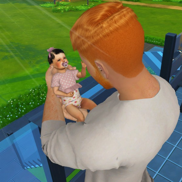Coupure Electrique: Baby Hair for Sims 4