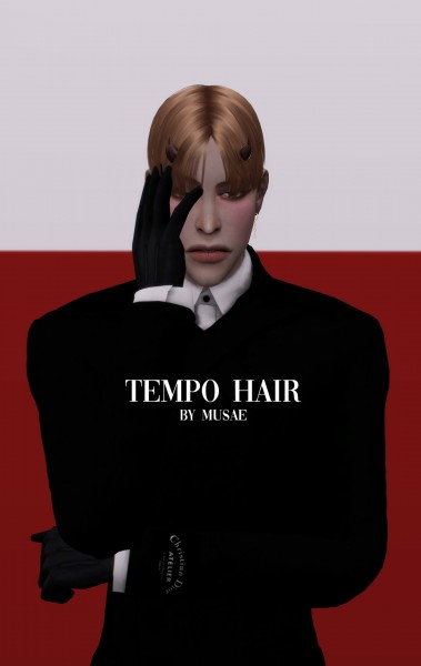 Effie: Tempo Hair retextured for Sims 4