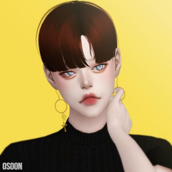 Osoon: Male Hair 03 for Sims 4