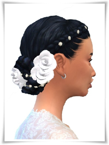 Birksches sims blog: Wedding 60s Hair for Sims 4