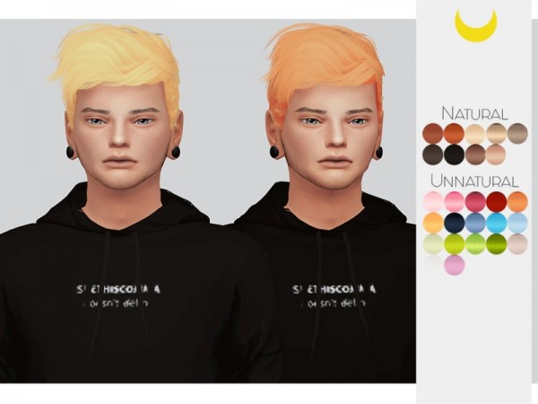 The Sims Resource: Stealthic`s Wavves hair retextured by Kalewa a for Sims 4