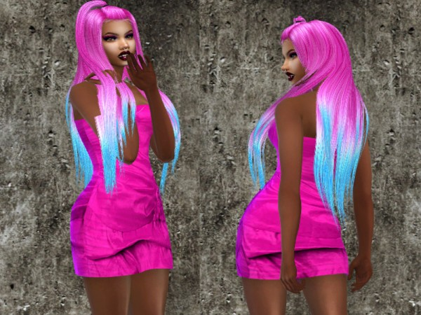 The Sims Resource: Radiant Hair Recolored by Teenageeaglerunner for Sims 4