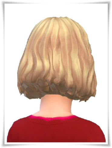 Birksches sims blog: Amelies and Emils Bob hair for Sims 4