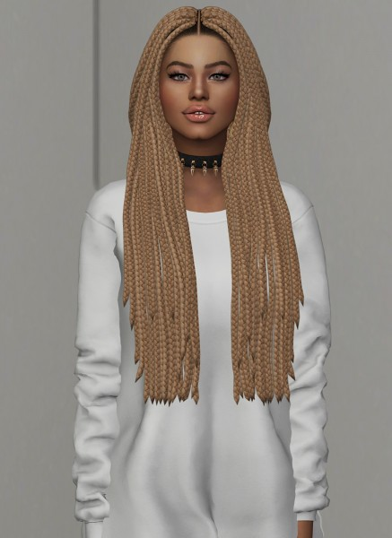 Coupure Electrique: Nine Hair for Sims 4