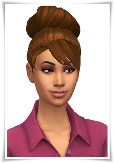 Birksches sims blog: Betty's Bun for Sims 4