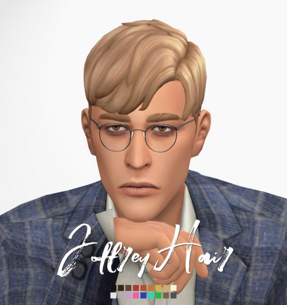 Effie: Joffrey Hair for Sims 4