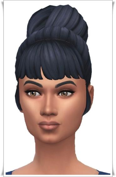 Birksches sims blog: Cordelia's Bun for Sims 4